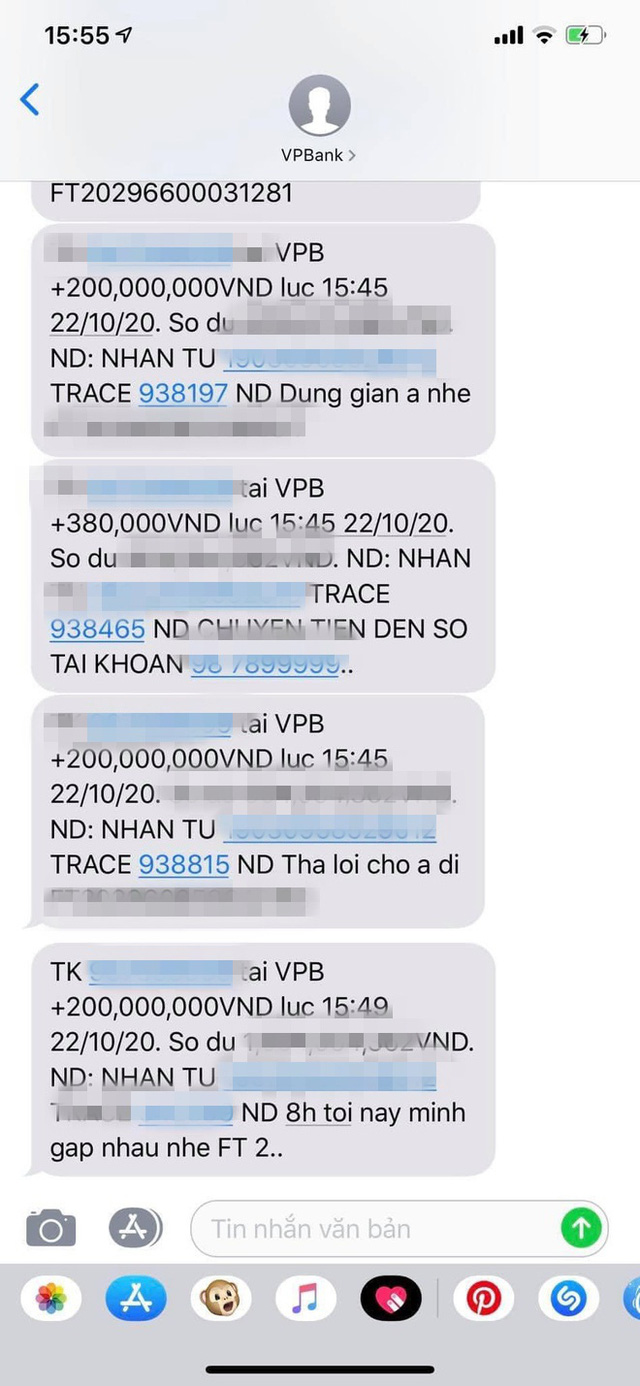 Chàng trai chuyển khoản 5 lần xin lỗi em gái vì quên tặng quà ngày 20/10, tổng số tiền lên đến cả tỉ đồng - Ảnh 3.