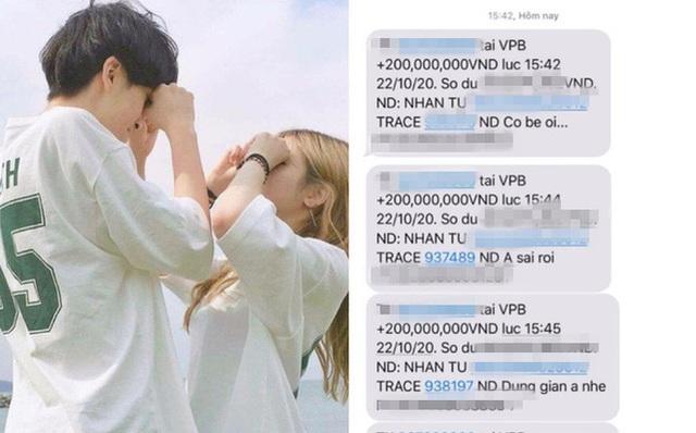 Chàng trai chuyển khoản 5 lần xin lỗi em gái vì quên tặng quà ngày 20/10, tổng số tiền lên đến cả tỉ đồng - Ảnh 1.
