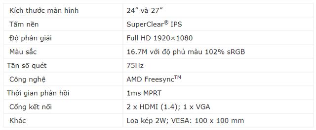 ViewSonic ra mắt dòng màn hình VX81 với thiết kế thanh lịch, tấm nền SuperClear IPS siêu đẹp và sáng - Ảnh 4.