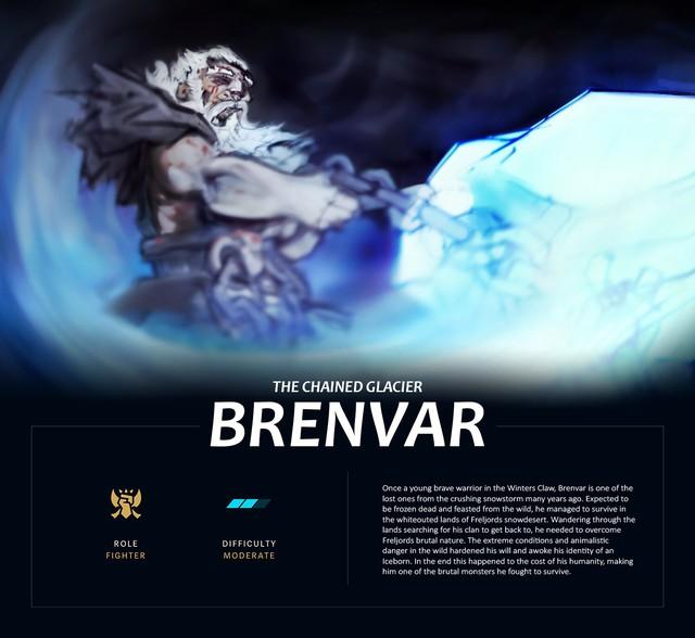 LMHT: Trầm trồ với fanmade tướng mới Brenvar - Siêu lực sĩ có khả năng phá hủy địa hình - Ảnh 2.