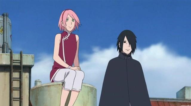 10 khoảnh khắc tuyệt vời của cặp đôi Sasuke - Sakura trong series Naruto và Boruto - Ảnh 8.