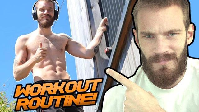 PewDiePie bất ngờ khoe thân hình 6 múi như vận động viên - Ảnh 4.