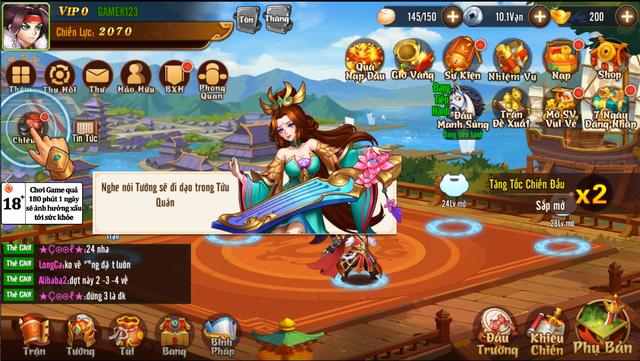 Trải nghiệm Võ Thần Tam Quốc - Tài dụng binh trong thế giới game chiến thuật - Ảnh 2.