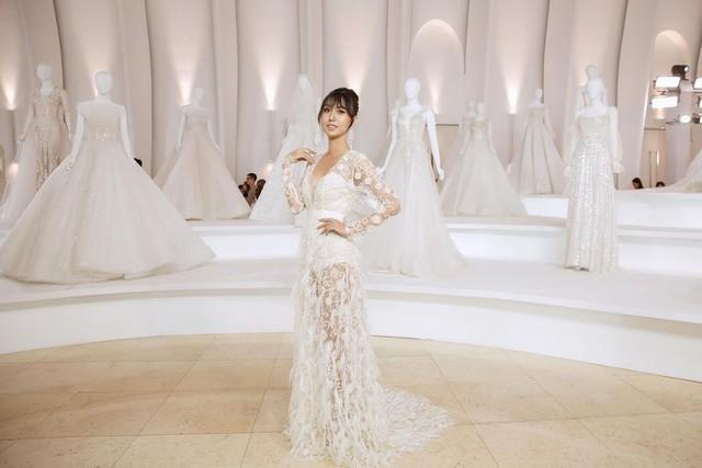 Lynk Lee diện váy cô dâu duyên dáng, khoe vòng một siêu gợi cảm khiến fan hâm mộ đổ rần rần khen xinh nức nở - Ảnh 6.