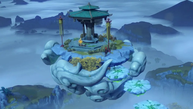 Genshin Impact: Hướng dẫn cách chinh phục biệt phủ trên mây, điểm cao nhất trên bản đồ để nhặt ngay 3 rương hiếm - Ảnh 1.