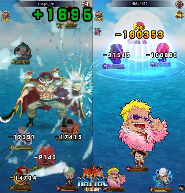 """Cùng Luffy """"Mũ Rơm"""" săn lùng kho báu One Piece trong game mới - Mộng Hải Tặc Mobile - Ảnh 2."""