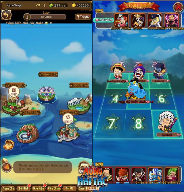 """Cùng Luffy """"Mũ Rơm"""" săn lùng kho báu One Piece trong game mới - Mộng Hải Tặc Mobile - Ảnh 4."""