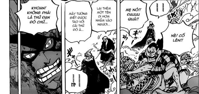 Dự đoán One Piece chap 992: Marco trợ giúp Cửu Hồng Bao đánh Kaido, Queen tung đòn hạ sát X-Drake? - Ảnh 4.