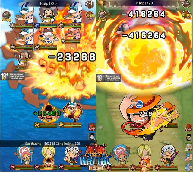 """Cùng Luffy """"Mũ Rơm"""" săn lùng kho báu One Piece trong game mới - Mộng Hải Tặc Mobile - Ảnh 1."""