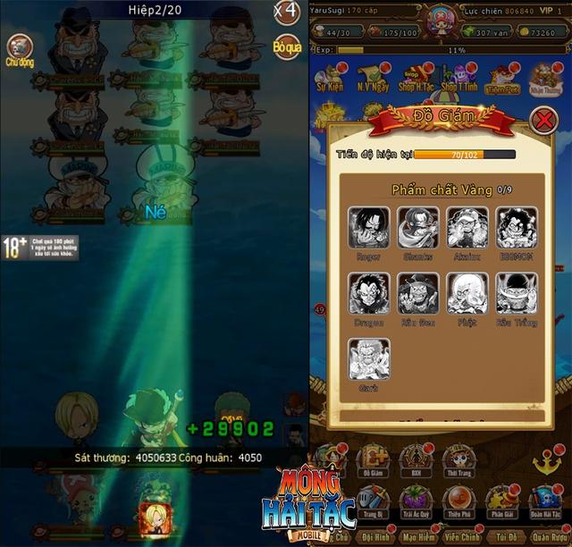 """Cùng Luffy """"Mũ Rơm"""" săn lùng kho báu One Piece trong game mới - Mộng Hải Tặc Mobile - Ảnh 7."""
