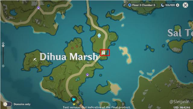 [Genshin Impact] Hướng dẫn tọa độ một số nhiệm vụ ẩn hiếm có khó tìm - Ảnh 5.