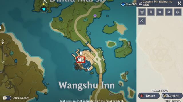 [Genshin Impact] Hướng dẫn tọa độ một số nhiệm vụ ẩn hiếm có khó tìm - Ảnh 7.
