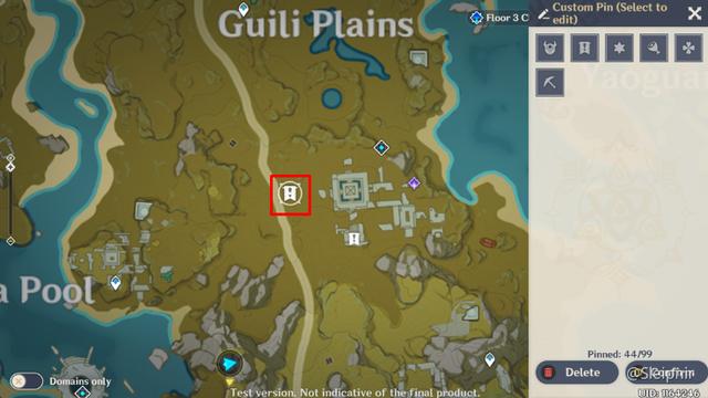 [Genshin Impact] Hướng dẫn tọa độ một số nhiệm vụ ẩn hiếm có khó tìm - Ảnh 13.