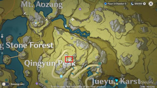 [Genshin Impact] Hướng dẫn tọa độ một số nhiệm vụ ẩn hiếm có khó tìm - Ảnh 23.