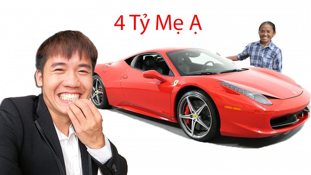Khoe với bà Tân Vlog việc vừa mua xe 4 tỷ, Hưng Vlog tuyên bố Con đầy tiền khiến cộng đồng mạng lắc đầu ngán ngẩm - Ảnh 1.