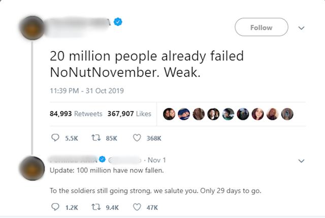 No Nut November là gì và vì sao cứ đến tháng 11 người ta lại nhắc đến trào lưu này? - Ảnh 3.
