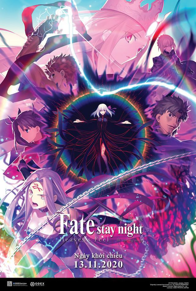 Poster phim Fate/stay night: Heaven's Feel III. spring song