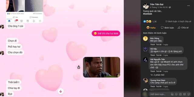 Game thủ đen đủi bị bạn gái bắt chọn lựa giữa người yêu và PS5 - Ảnh 2.