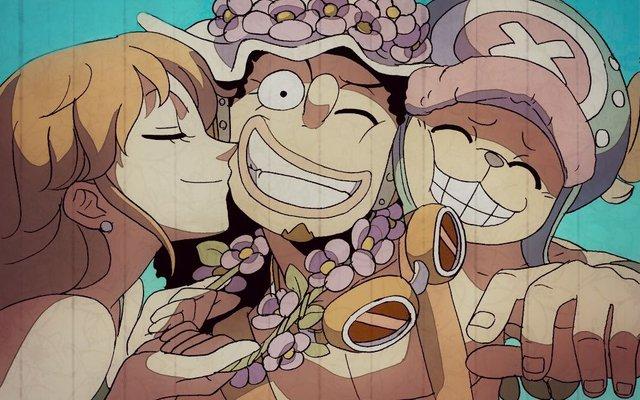 One Piece: Bộ ba yếu đuối của băng Mũ Rơm bắt đầu bị bón hành nhưng không 1 ai gục ngã - Ảnh 4.