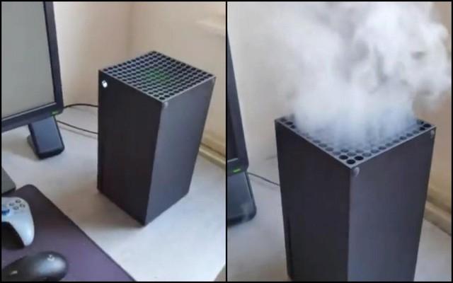 Xuất hiện rất nhiều video cho thấy Xbox Series X đang bốc cháy, tuy nhiên đều là giả? - Ảnh 1.