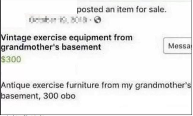 Tưởng nhầm ghế tình yêu của bà ngoại là đồ nội thất, cậu nhóc lên mạng rao bán khiến cộng đồng mạng được phen cười nghiêng ngả - Ảnh 2.