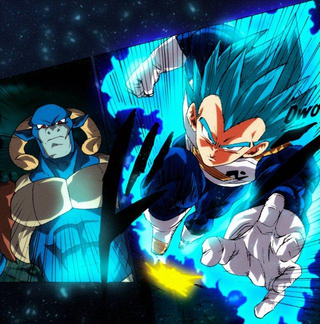 Dragon Ball Super Chap 66: Thời của Vegeta đã đến, hoàng tử saiyan có thể tỏa sáng ở cuối trận chiến với Moro không? - Ảnh 3.