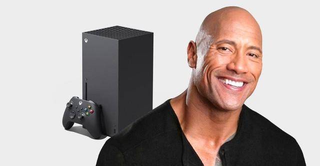 Microsoft cùng The Rock đi phát miễn phí Xbox Series X - Ảnh 1.