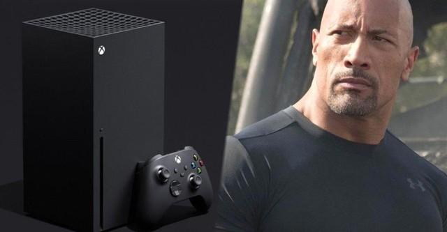 Microsoft cùng The Rock đi phát miễn phí Xbox Series X - Ảnh 3.