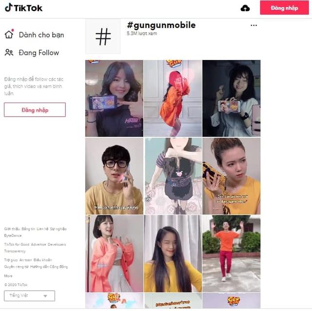 Thống kê shock: Có 5 triệu 300 ngàn anh em tìm hashtag #gungunmobile trên TikTok chỉ để... ngắm gái xinh, check tâm hồn đẹp - Ảnh 10.