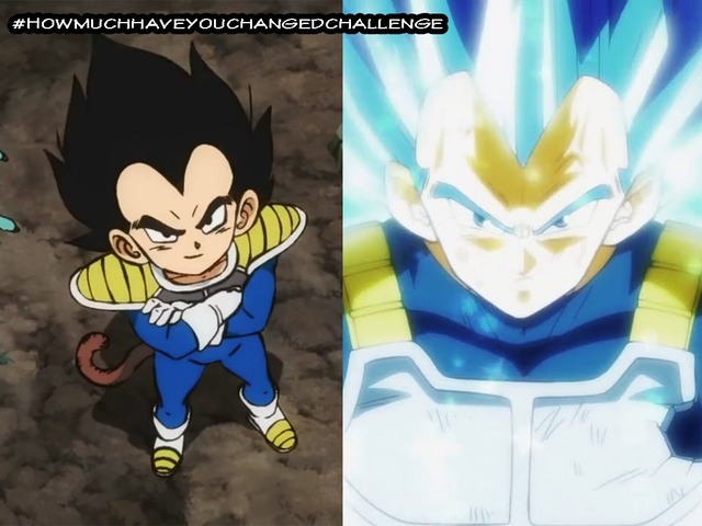 Thích thú khi thấy các nhân vật trong Dragon Ball tham gia thử thách #Howmuchhaveyouchangedchallenge - Ảnh 3.