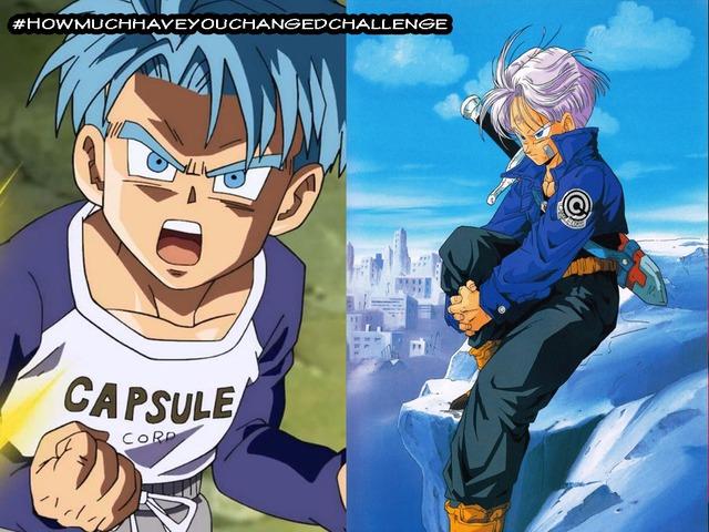 Thích thú khi thấy các nhân vật trong Dragon Ball tham gia thử thách #Howmuchhaveyouchangedchallenge - Ảnh 8.