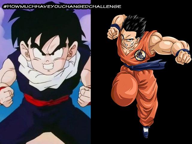 Thích thú khi thấy các nhân vật trong Dragon Ball tham gia thử thách #Howmuchhaveyouchangedchallenge - Ảnh 10.
