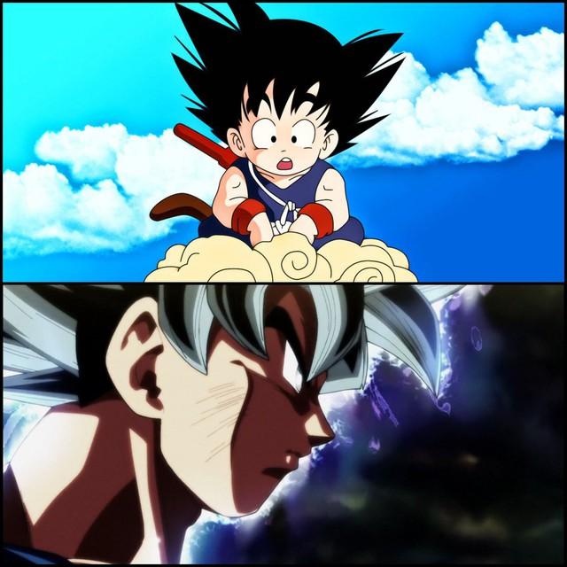 Thích thú khi thấy các nhân vật trong Dragon Ball tham gia thử thách #Howmuchhaveyouchangedchallenge - Ảnh 2.