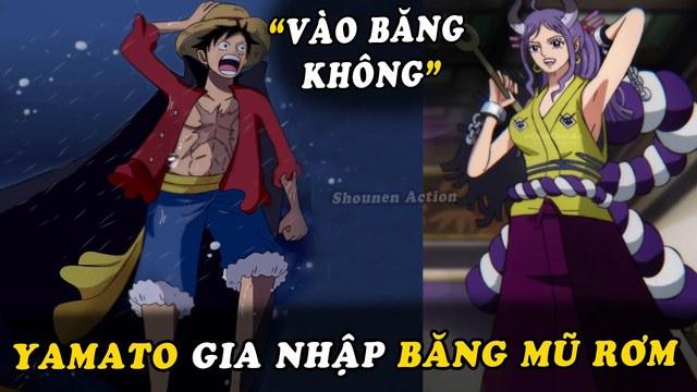 One Piece: Liệu rằng Yamato có đưa ra lời mong muốn gia nhập băng Mũ Rơm đúng vào chap 1000? - Ảnh 3.
