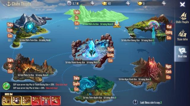Hải Trình rộng lớn, đầy ắp kho báu lẫn những hiểm nguy