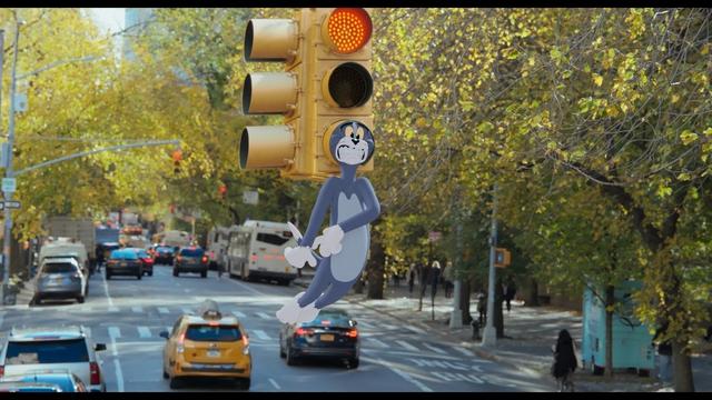 Cặp kỳ phùng địch thủ Tom và Jerry lần đầu tái xuất màn ảnh rộng sau 3 thập kỷ đã khai chiến với mỹ nhân - Ảnh 9.