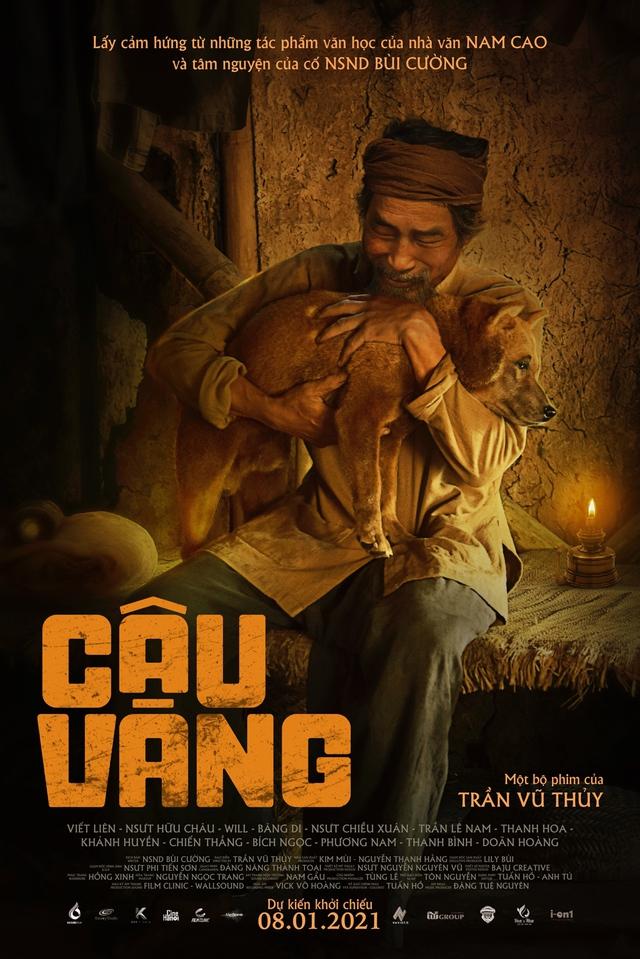 Cậu Vàng tiếp tục nhá hàng teaser trailer, poster khiến người hâm mộ thích thú - Ảnh 1.