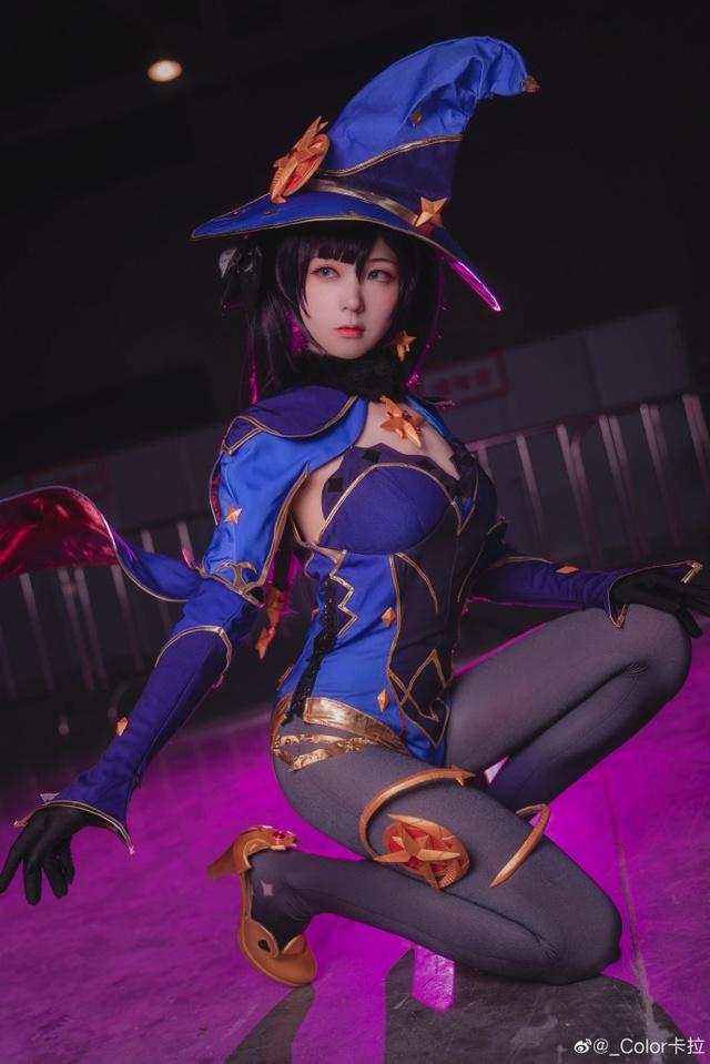 Tan chảy với nàng phù thủy nước Mona cực nuột trong Genshin Impact - Ảnh 2.