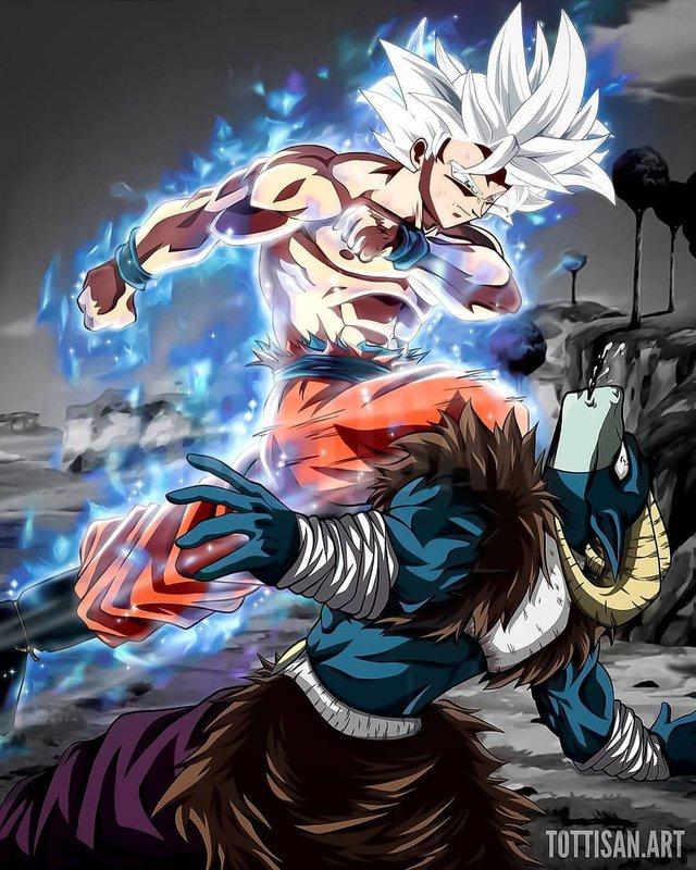 Dragon Ball Super chap 66: Goku bất ngờ hóa khổng lồ, đè bẹp Moro và quyết tâm tiêu diệt ác nhân - Ảnh 2.