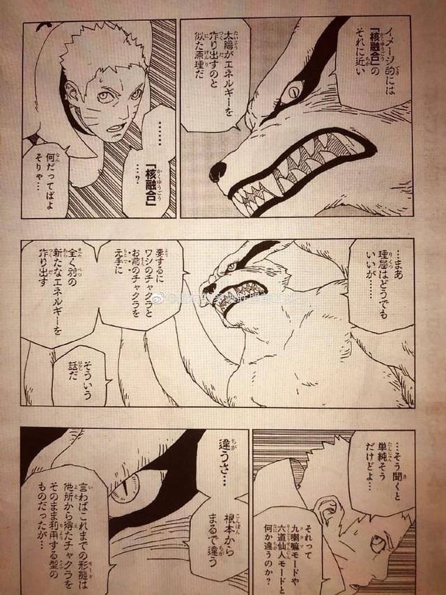Naruto quyết khô máu với Isshiki, Boruto thức tỉnh con mắt bí ẩn khiến Sasuke kinh ngạc trong chap mới - Ảnh 2.