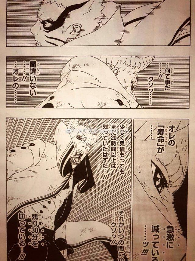 Naruto quyết khô máu với Isshiki, Boruto thức tỉnh con mắt bí ẩn khiến Sasuke kinh ngạc trong chap mới - Ảnh 9.