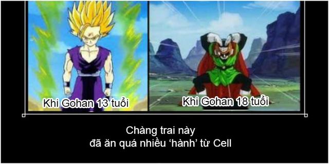 Dragon Ball: Cười thả ga với loạt ảnh chế hài hước về cậu con cả của Son Goku - Ảnh 2.