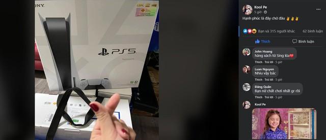 Xuất hiện nữ game thủ Việt đầu tiên sở hữu PS5, khiến các nam game thủ khác phải ngưỡng mộ - Ảnh 1.