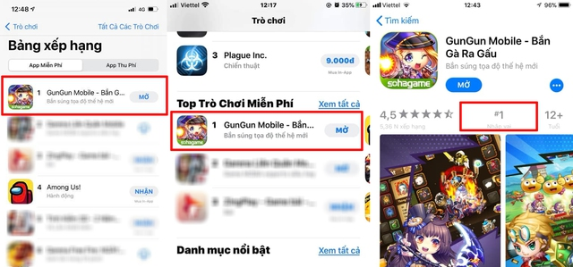 Gun Gun Mobile chễm chệ TOP 1 ALL GAME trên App Store: Đẳng cấp ngôi Vương bắn súng tọa độ! - Ảnh 3.