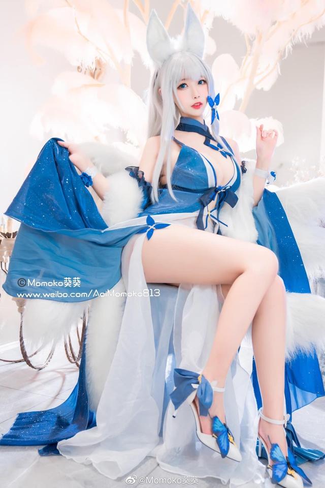 Ngắm gái xinh Azur Lane diện trang phục dạ hội cắt xẻ táo bạo khoe vòng 1 hờ hững - Ảnh 6.