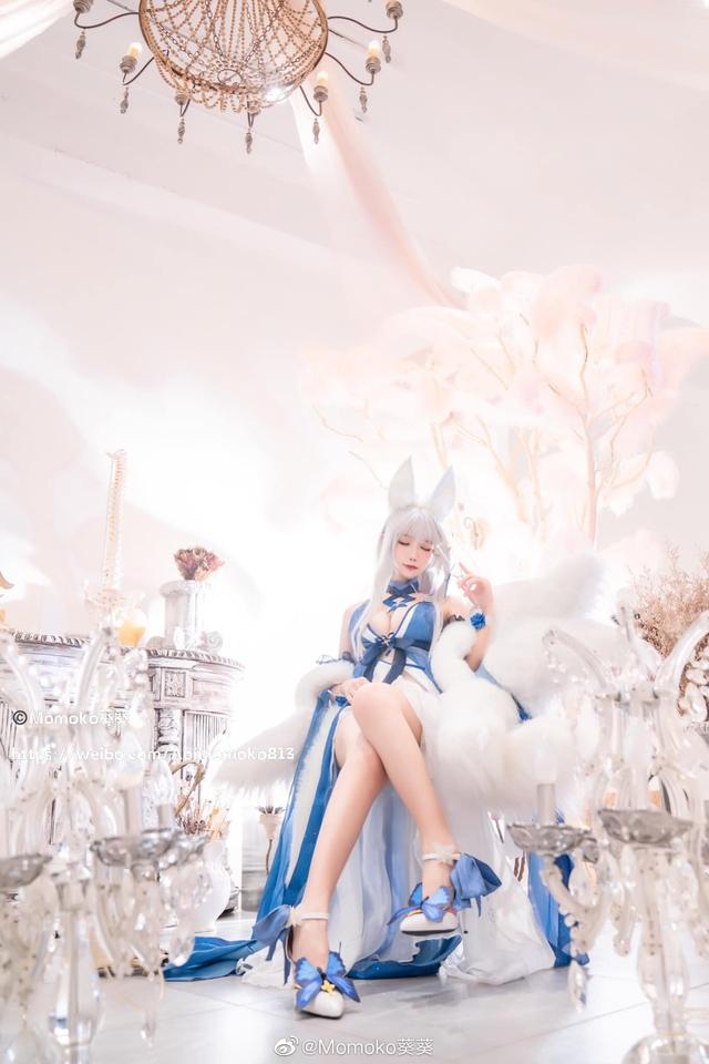 Ngắm gái xinh Azur Lane diện trang phục dạ hội cắt xẻ táo bạo khoe vòng 1 hờ hững - Ảnh 11.
