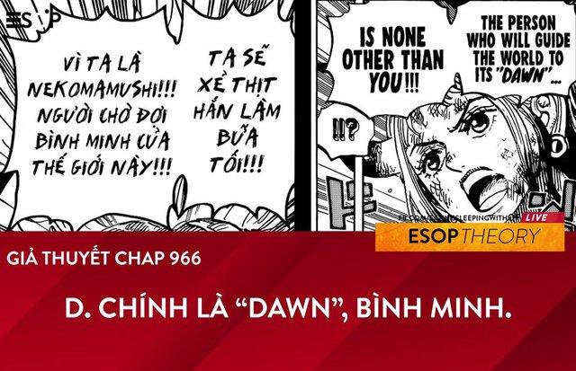 One Piece: Có lẽ Oda đã âm thầm tiết lộ về bí mật của gia tộc D. trong chap 996? - Ảnh 1.