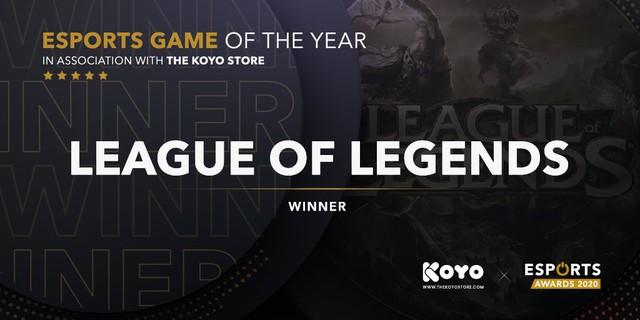 LMHT thắng lớn tại Esports Awards 2020, sao trẻ mới gia nhập T1 đoạt giải Tân binh của năm - Ảnh 1.