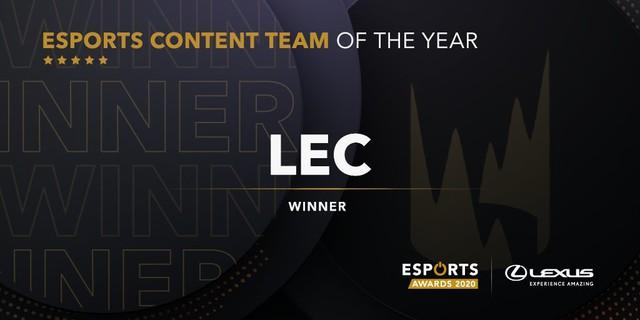 LMHT thắng lớn tại Esports Awards 2020, sao trẻ mới gia nhập T1 đoạt giải Tân binh của năm - Ảnh 8.