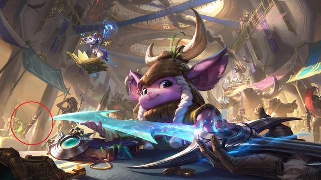 Riot Games nhá hàng vị tướng mới sẽ là vua lì đòn của LMHT - Ảnh 3.